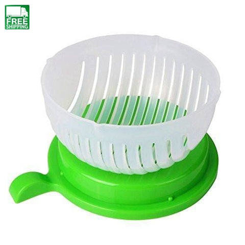 60 Second Salad Cutter Bowl Maker Camp Kitchen