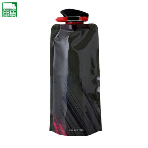 700Ml Creative Collapsible Drink Sport Water Bottle Camping Hydration & Filtration