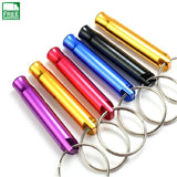 Image of Aluminum Alloy  Keychain Mini For Outdoor Emergency Survival Safety