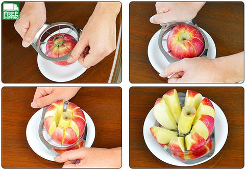 Apple Slicer Cutter Knife Fruit Vegetable Slicer Kitchen Camp Kitchen