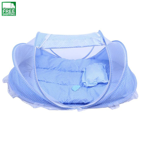 Baby Mosquito Net Portable Folding Type Comfortable Infant Pad Cute Baby Sleeping Bag