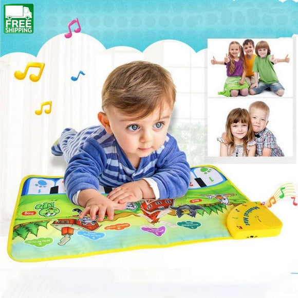 Baby Musical Carpet Kids Play Mat Educational Electronic Cute Baby Sleeping Bag