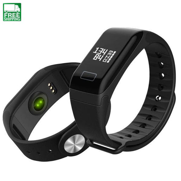 Blood Pressure Oxygen Smart Wristband Bluetooth 4.0 Watch Sports Watches