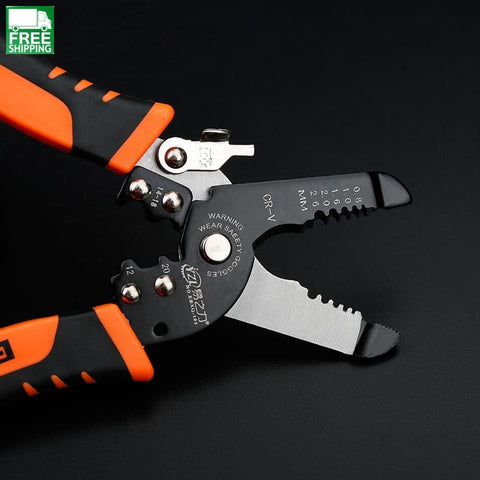 Cable Wire Stripper Cutter Crimper Automatic Multifunctional Tab Terminal Safety & Survival