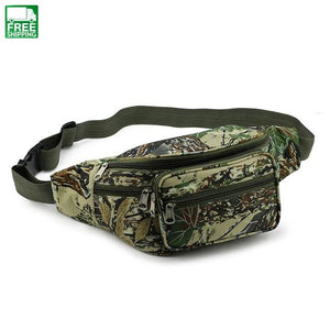 Camouflage Military Waist Bag Professional Pouch Outdoor Camping