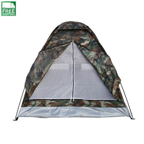 Camping Tent 2 Person Ultralight Single Layer Water Resistance Tent