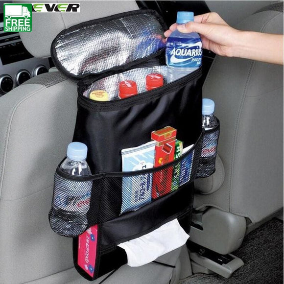 Car Covers Seat Organizer Bag Multi-Function Storage Container Outdoor Camping