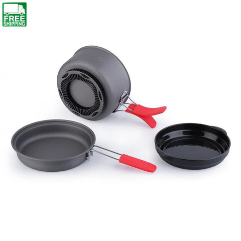 Cooking Set Picnic Pot Camping Cookware Outdoor Camp Kitchen