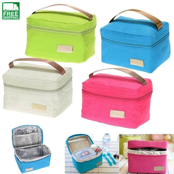 Cooler Thermal Picnic Lunch Bag Waterproof Tote For Kids Adult Picnic Bags