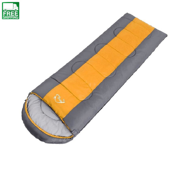 Cotton Single Sleeping Bags Outdoor Sport Thick Hiking Camping & Camp Bedding