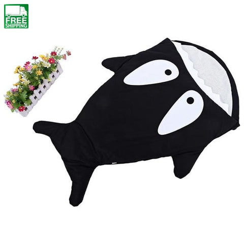 Cute Cartoon Shark Animal Baby Sleeping Bag Winter Sack Warm Cute Baby Sleeping Bag