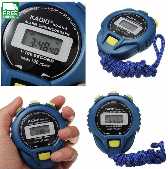 Digital Timer Stopwatch Sport Counter Odometer Watch Alarm Smart Sports Watches