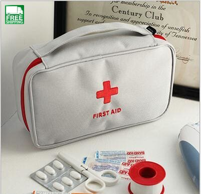 Emergency Bag Outdoor Portable Handheld Medical First Aid Kit Pattern Safety & Survival