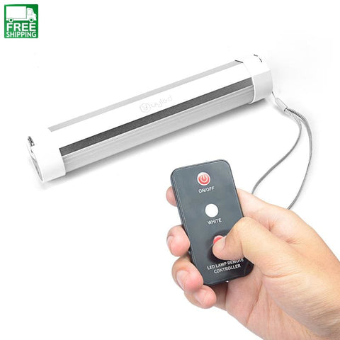 Emergency Led Light With Remote Control Magnetic Camping
