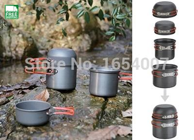 Fire Maple 2-3 Persons Outdoor Cutlery Pot Set Camp Cooking Cookware Kitchen