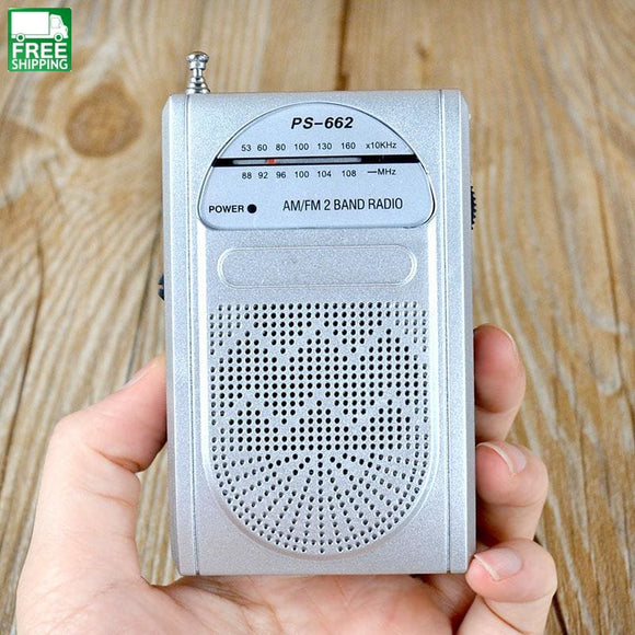 Fm Am Rhot Sale Ps-662 Radio Portable Multimedia Music Loudspeaker Outdoor Camping