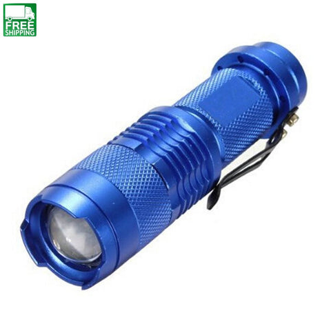 Focus Adjustable Mini Led Flashlight Lights & Lanterns