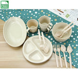 Food Grade Reusable Outdoor Party Picnic Camping Tableware Set Camp Kitchen