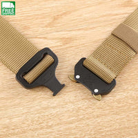 Gear Heavy Duty Belt Cobra Nylon Metal Buckle Patrol Waist Outdoor Camping