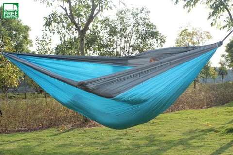 Hammock Double 2 Person Travel Camping Survival Tree Sleeping Hamaca Hammocks