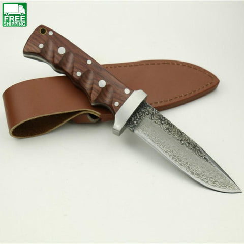 Hand Tool Hunting Knife Handmade High Carbon Knives