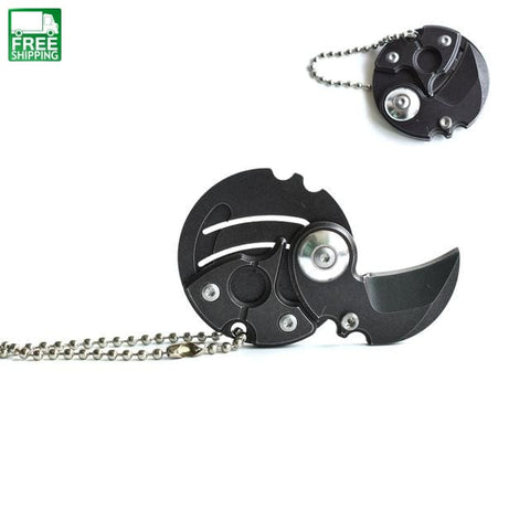 Key Knife Gift Hunting Survival Chain Outdoor Tools Knives