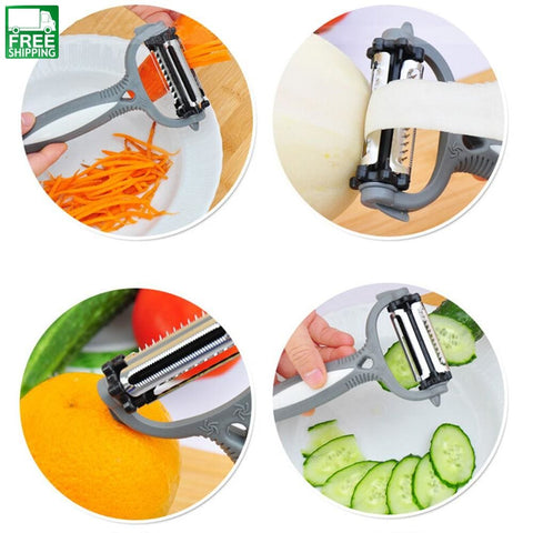 Kitchen Accessories Tools Useful Rotary Potato Peelers Melon Gadget Vegetable Camp