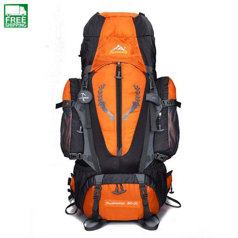 Large Capacity 85L Outdoor Backpack Men Rucksacks Bags Camping Backpacks