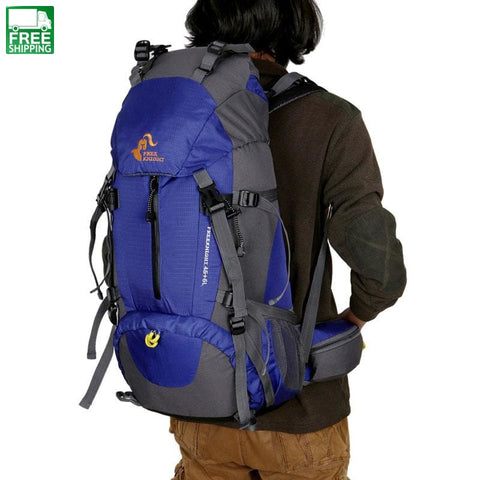 Large Capacity Backpack Emergency Go-Bag Travel Bag Resists Camping Backpacks