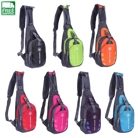 Large Capacity Outdoor Bags Chest Bag Sport Travel Backpacks &