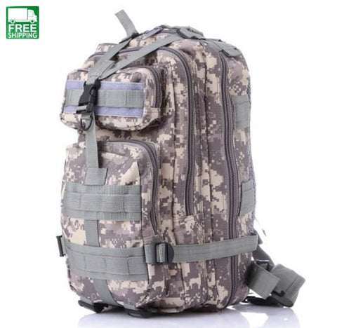Military Backpack European And American Style Backpacks & Bags
