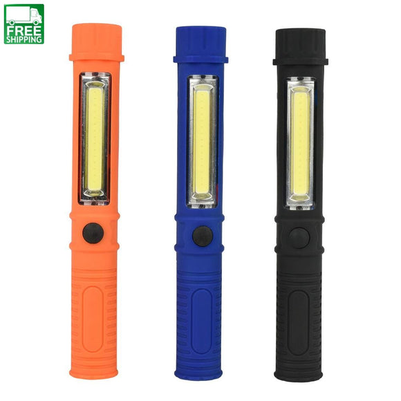 Mini Cob Led Work Light Led Flashlight Torch Magnet Lights & Lanterns