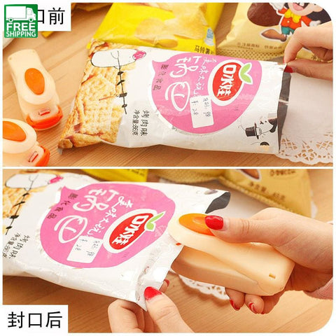 Mini Heat Sealing Machine Impulse Sealer Seal Packing Plastic Bag Camp Kitchen
