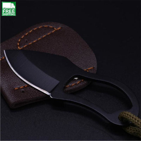 Mini Pocket Knife Finger Self-Defence Survival Fishing Knives