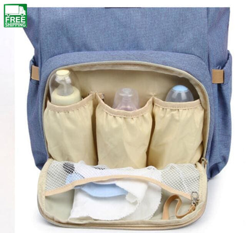 Mother Bag Mama Baby Bottle Water Mummy Diaper Women Mom Outdoor Diaper Bag