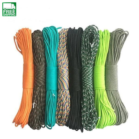 Parachute Cord Lanyard Rope Climbing Camping Survival Equipment Safety & Survival