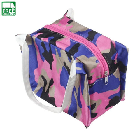 Picnic Bags Convenient Portable Lunch Picnic Purple