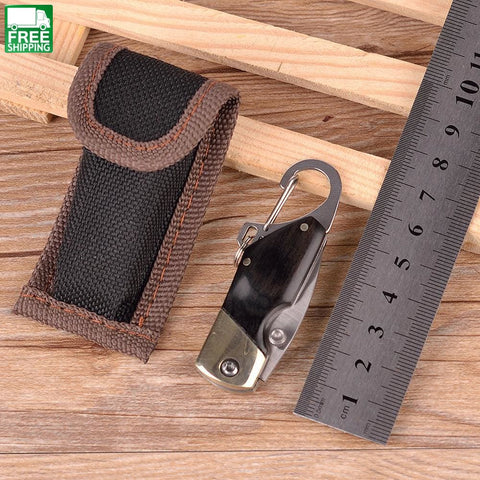 Pocket Mini Knife Tool Hikemulti Fold Cutter Survive Multipurpose Knives
