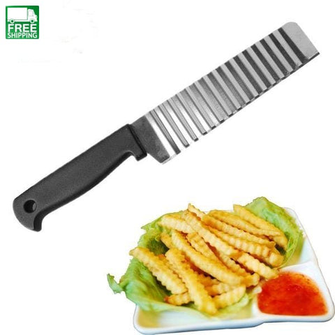 Potato French Fry Cutter Stainless Steel Kitchen Accessories Camp