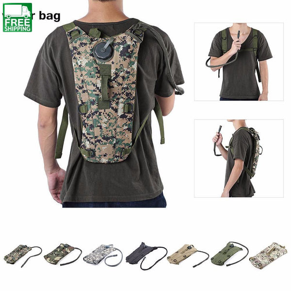 Powerful Army Hydration Backpack For Hiking Hydration Backpack