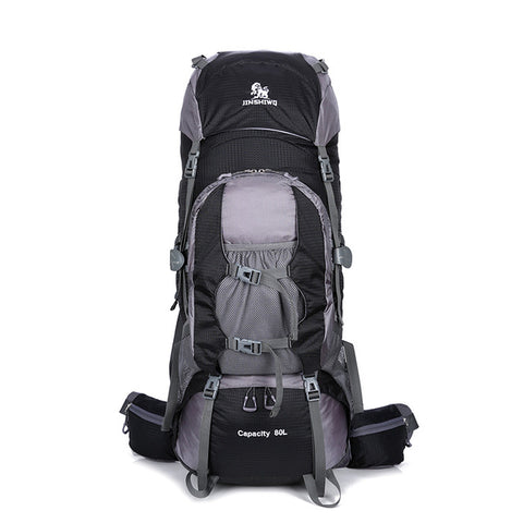 Super-Light 80L Big Hiking Backpack With Aluminum alloy Support