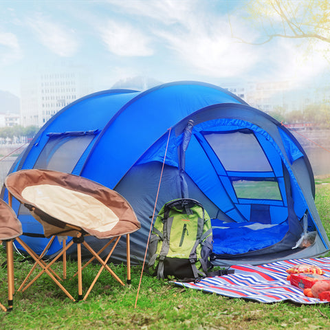 Waterproof Automatic Throw Tent For Families