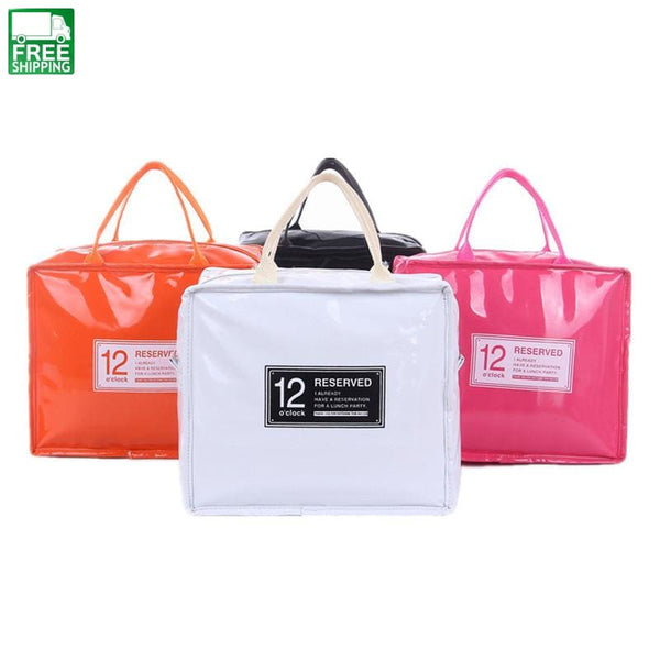 Pu Cooler Bag Insulated Lunch Box Meal Prep Cooler Picnic Picnic Bags