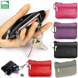 Pu Leather Coin Purses Womens Small Change Money Bags Pocket Wallets Travel Waist
