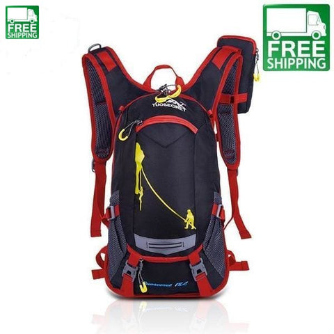 Road Backpack Bicycle Backpacks Camp Pack Students Blue & Bags