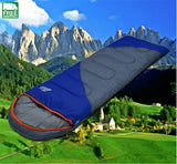 Sleeping Bag Waterproof Keep Warm Thre Seasons Spring Summer Sleeping For Camping Travel Bags & Camp