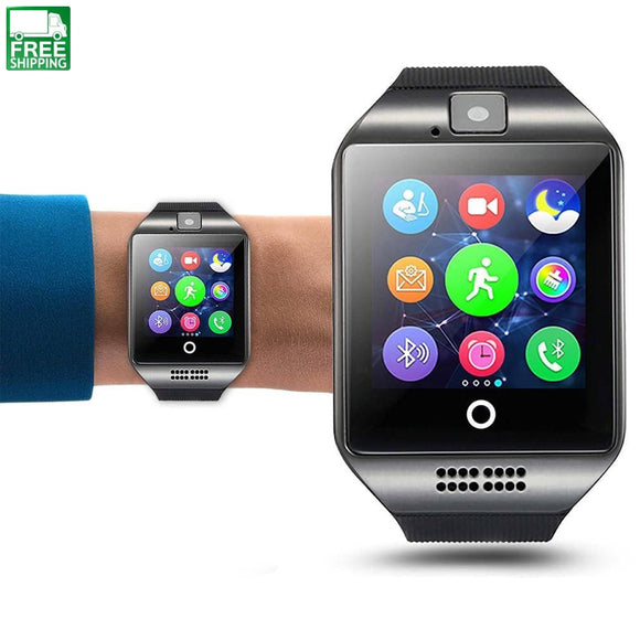 Smart Wrist Watch Bluetooth Smartwatch Phone With Camera Tf/sim Sports Watches