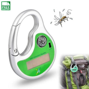 Solar Ultrasonic Mosquito Killer 20-50 Square Meters Effect Insect Repellent