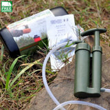 Soldier Water Filter Purifier Cleaner Outdoor Hiking Camping Survival Emergency Outdoor Camping