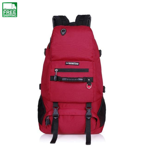Sport Bag 40L Shoulder Backpack Shoes Compartment Camping Backpacks